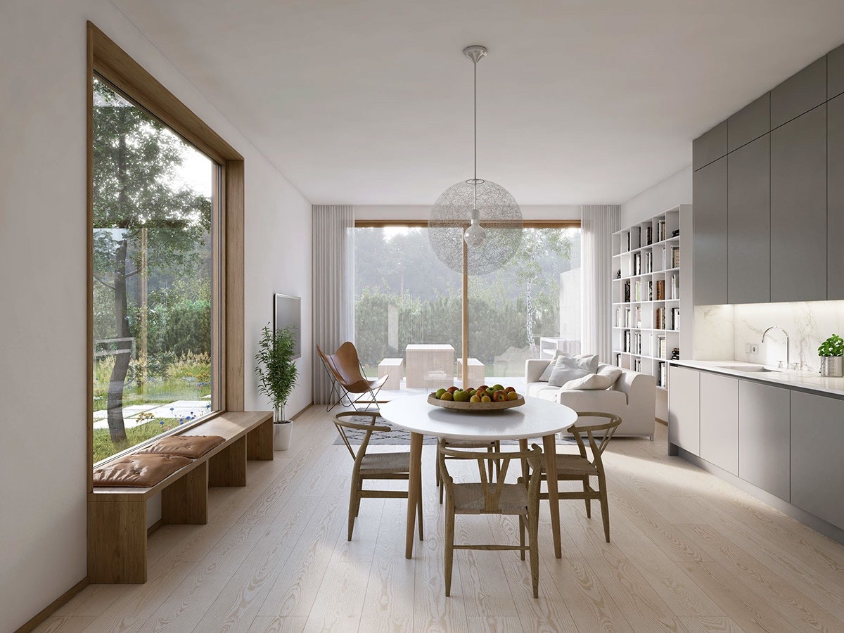 40 minimalist dining rooms to leave you hungry for style rh home designing com