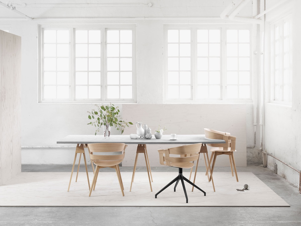 Google Image Result For Http Cdn Home Designing Com Wp Content Uploads 2017 12 Minimalist Wood Dining Chairs Jpg In 2020 Wood Dining Chairs Dining Chairs Dining