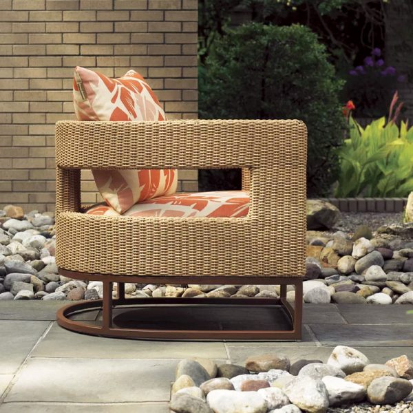 51 Modern Outdoor Chairs To Elevate, Modern Wicker Patio Furniture