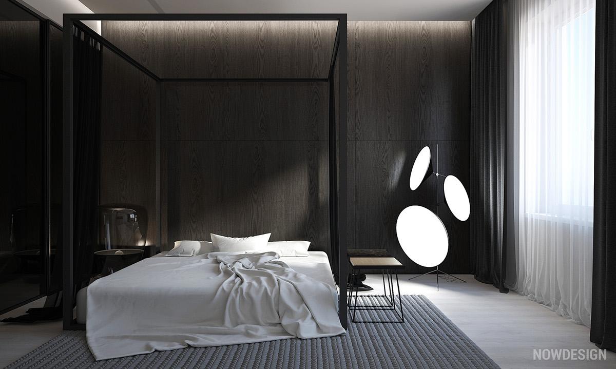 White Amp Grey Interior Design In The Modern Minimalist Style