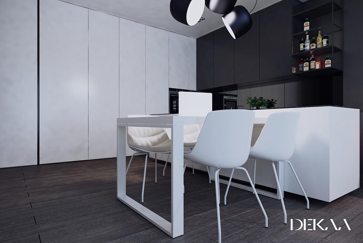 Exceptional HOME DESIGNING: White U0026 Grey Interior Design In The Modern Minimalist Style