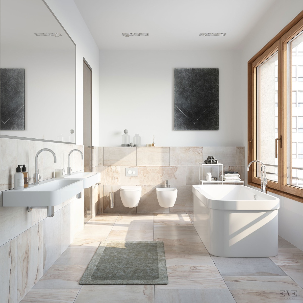 Minimalist Bathroom Decor: 40 Modern Minimalist Style Bathrooms