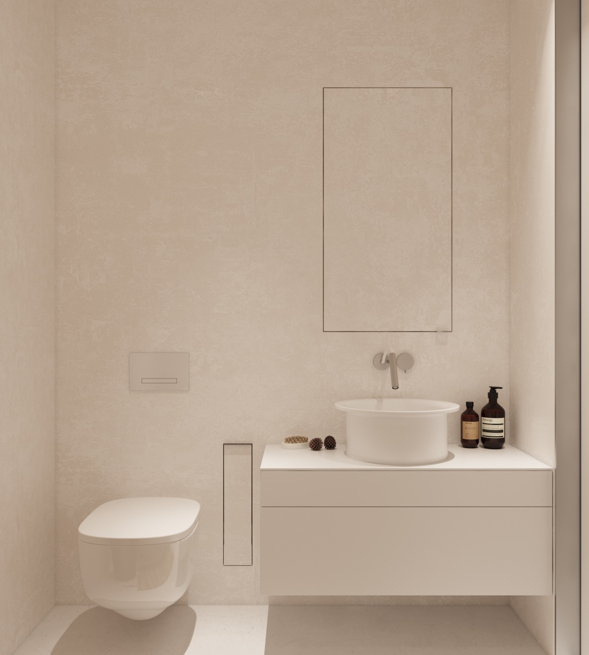 Bathrooms: 40 Modern Minimalist Style Bathrooms