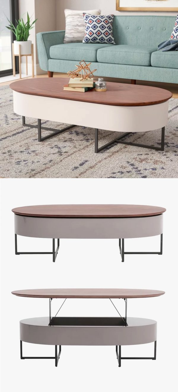 4226f38e5a77 36 Mid Century Modern Coffee Tables That Steal Centre Stage