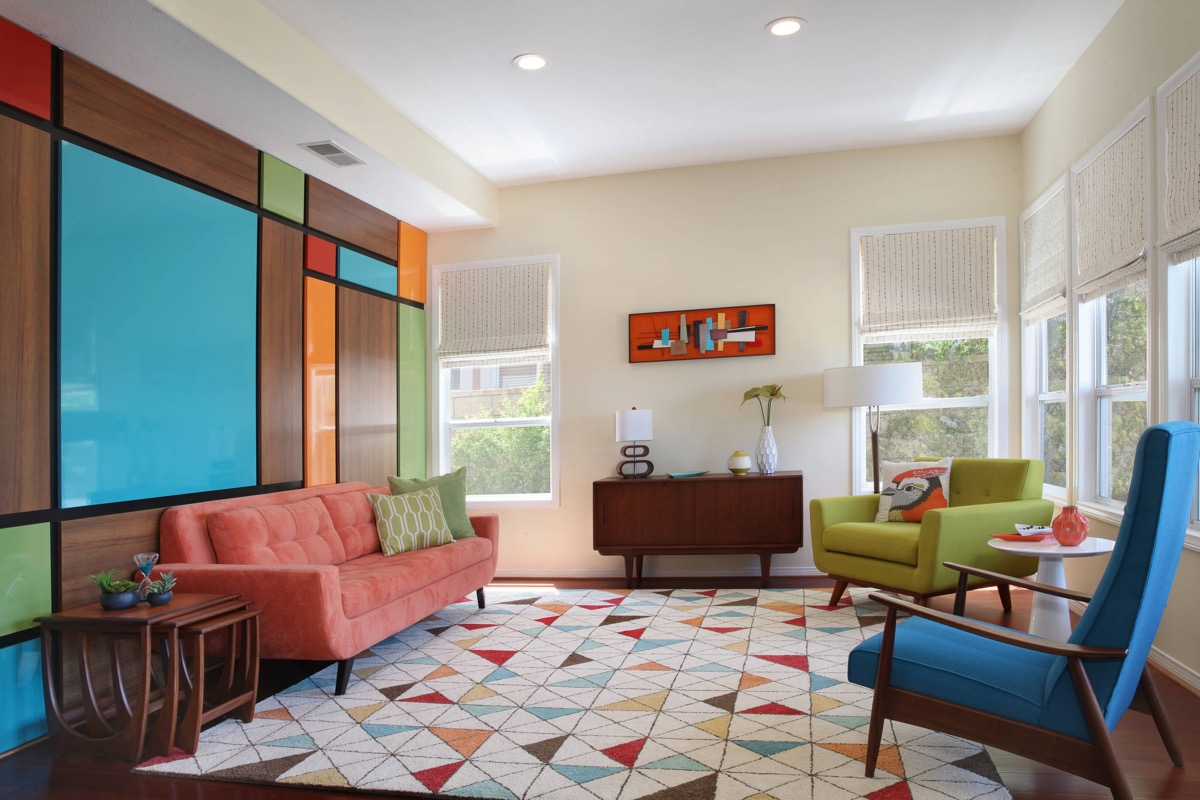 Terrific 30 Mesmerizing Mid Century Modern Living Rooms And Their Ibusinesslaw Wood Chair Design Ideas Ibusinesslaworg