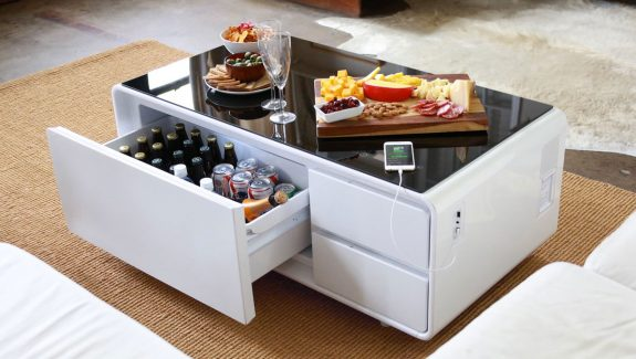 Product of the week a hi tech coffee table with built in refrigerator