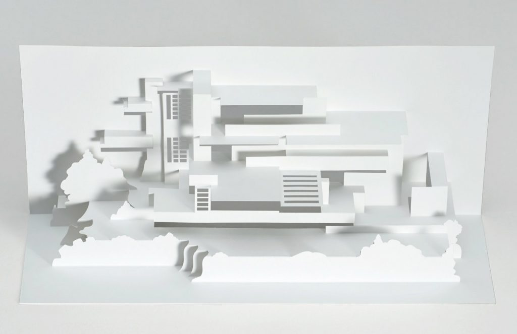 Product of the week frank lloyd wright paper models