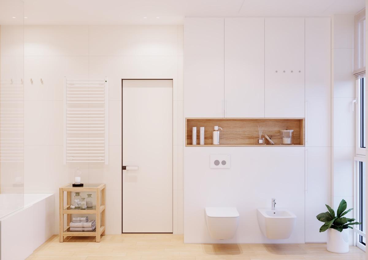 40 Modern Minimalist Style Bathrooms Minimalist bathroom door shape