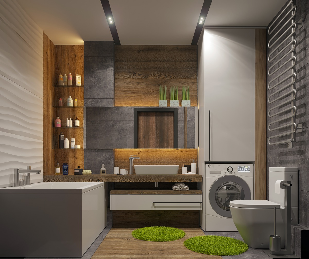 Minimalist Bathroom Design Pinterest: 40 Modern Minimalist Style Bathrooms