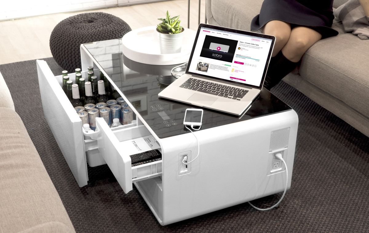 Product Of The Week A Hi Tech Coffee Table With Built In