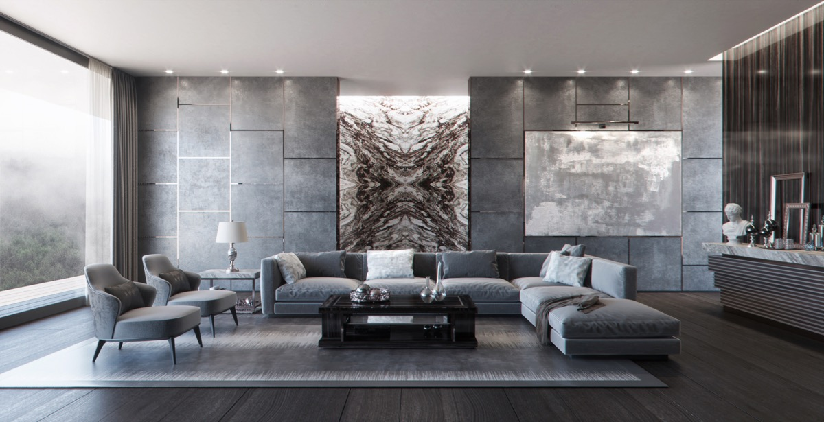 99 Beautiful White And Grey Living Room Interior: 40 Grey Living Rooms That Help Your Lounge Look