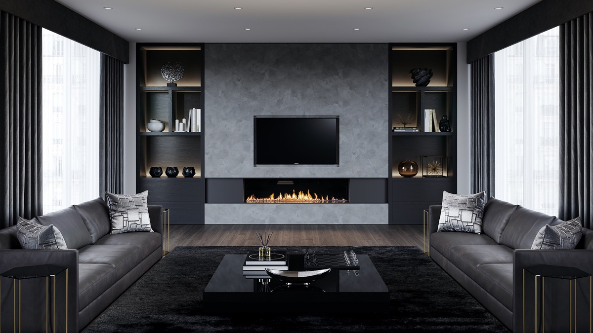 Cool 40 Grey Living Rooms That Help Your Lounge Look Effortlessly Download Free Architecture Designs Photstoregrimeyleaguecom