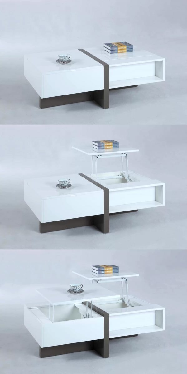 33 Beautiful Lift Top Coffee Tables To Help You Declutter And Multi Task