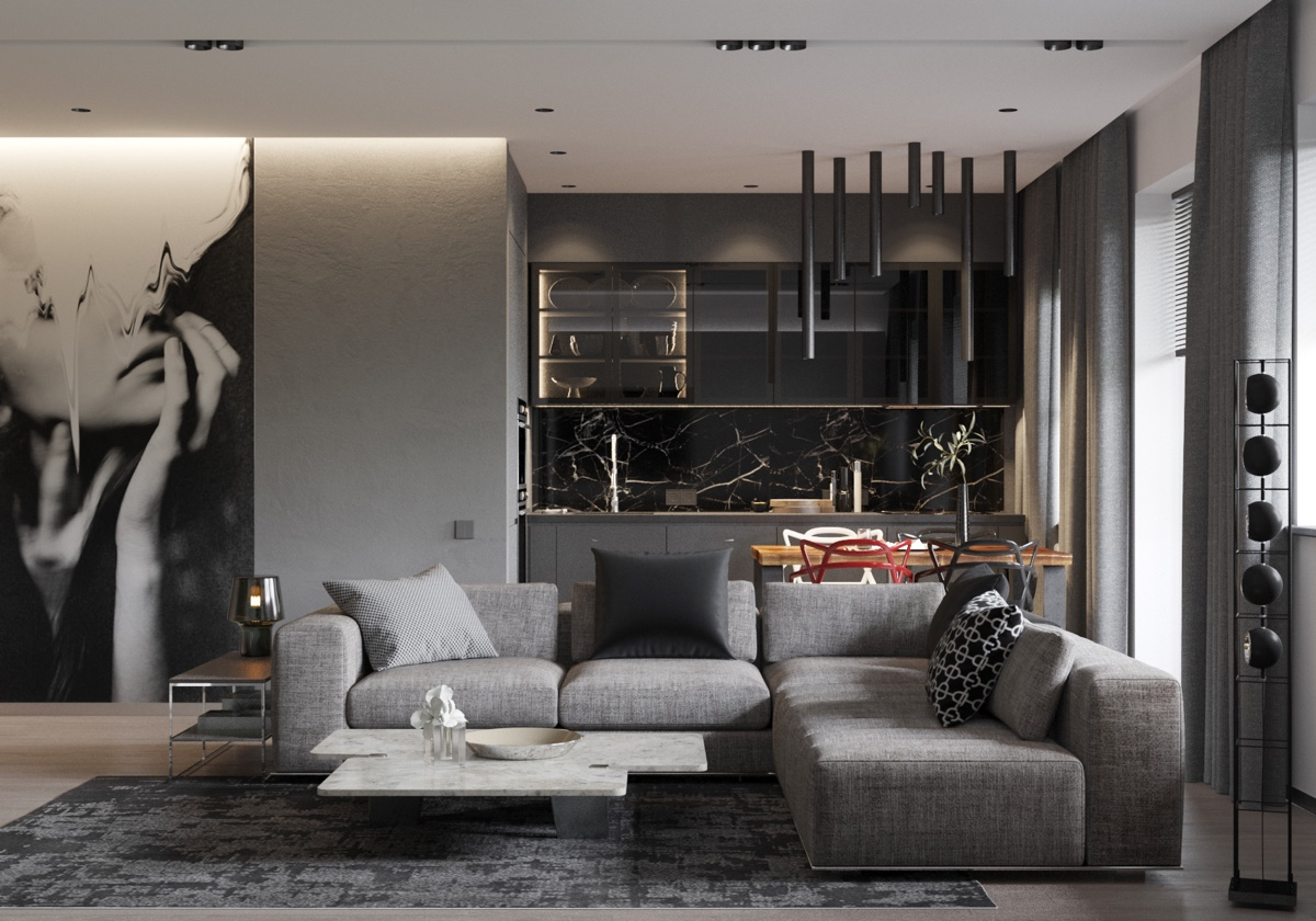 40 Grey Living Rooms That Help Your Lounge Look: HOME DESIGNING: 40 Grey Living Rooms That Help Your Lounge