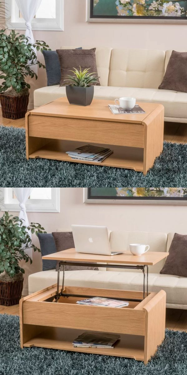 33 Beautiful Lift Top Coffee Tables To Help You Declutter