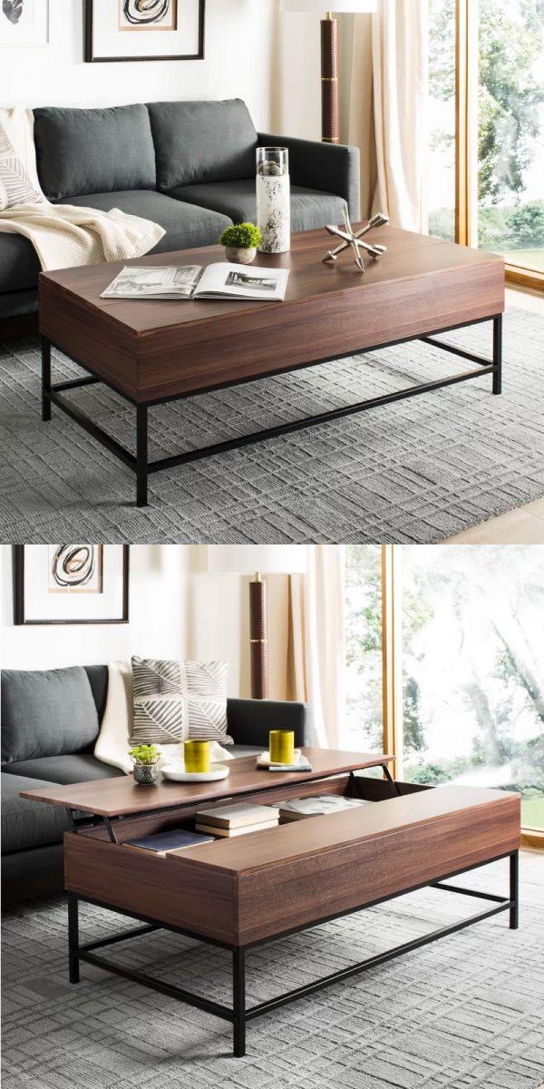 Lift Up Modern Coffee Table Mechanism