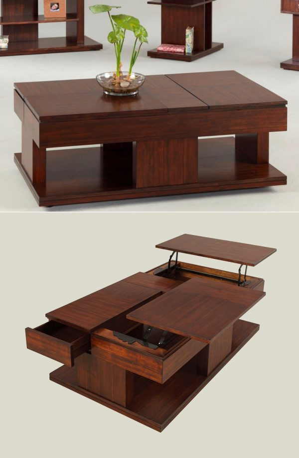 Lift Top Coffee Table.33 Beautiful Lift Top Coffee Tables To Help You Declutter And Multi Task