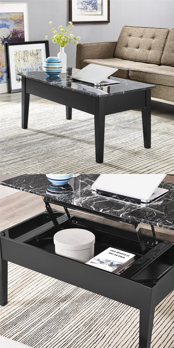 Lift Top Coffee Table Black.33 Beautiful Lift Top Coffee Tables To Help You Declutter And Multi Task