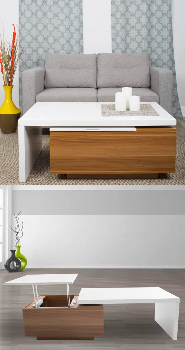 Incredible 33 Beautiful Lift Top Coffee Tables To Help You Declutter Evergreenethics Interior Chair Design Evergreenethicsorg