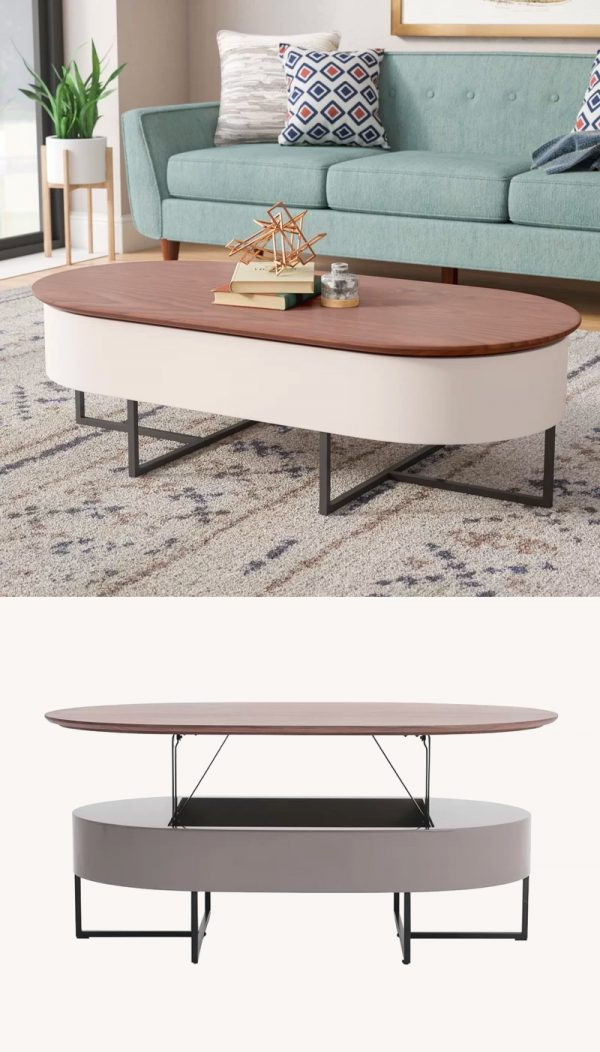 It Dual Tone Lift Top Coffee Table