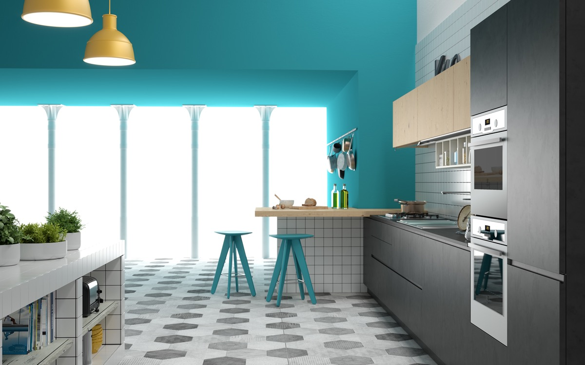 8 Beautiful Blue Kitchens To Brighten Your Day