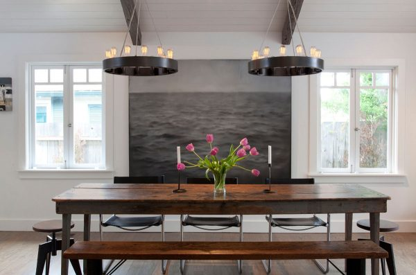 30 rustic dining rooms that radiate refinement mixed sign