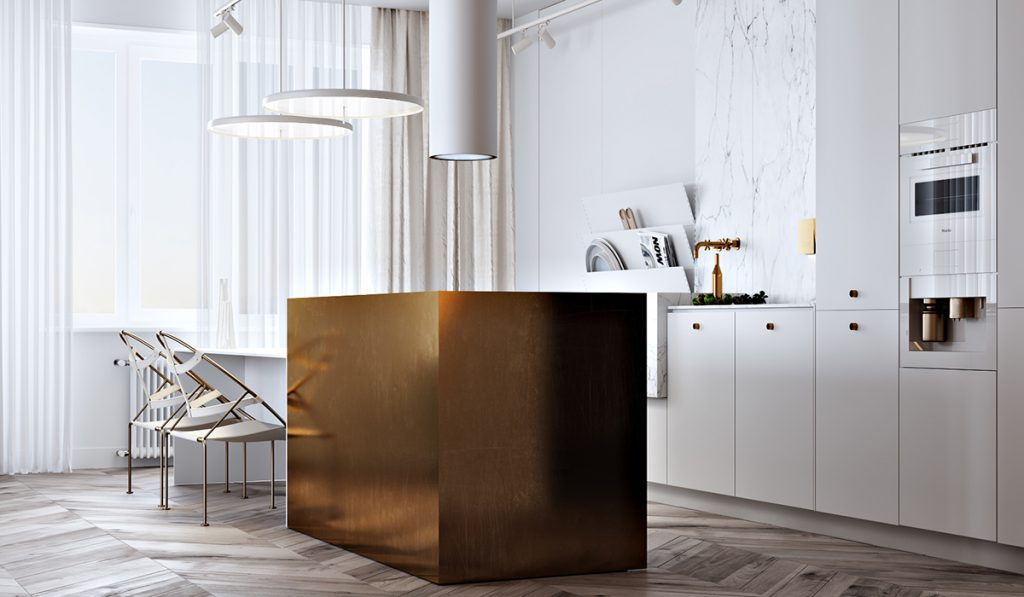 Using Gold Accents In Interior Design