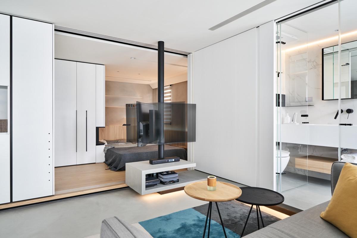 True Open Plan Apartment Under 50 Square Meters(500 Square ...