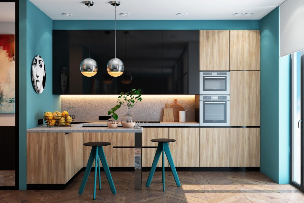 12 Beautiful Blue Kitchens To Brighten Your Day