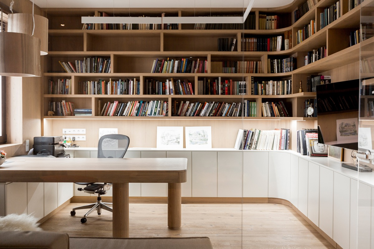 51 Modern Home Office Design Ideas For
