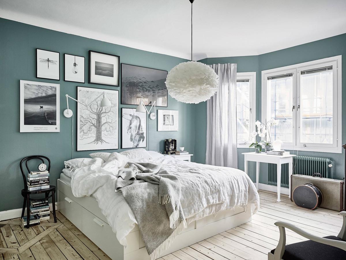 25 Source 55kvadrat This Blue Bedroom