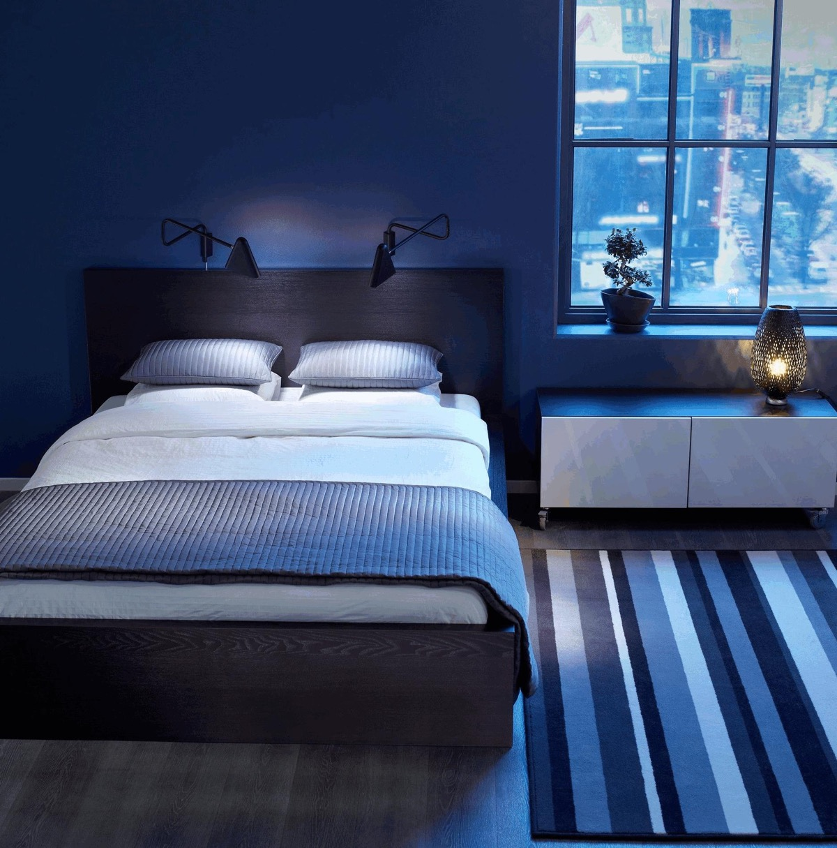 30 Buoyant Blue Bedrooms That Add Tranquility and Calm to ... on zen things, zen bathroom design, zen kitchen ideas, bedroom interior design ideas, zen bedroom art, zen bedroom window treatments, bedroom wall ideas, zen bedroom rugs, zen bedroom space, buddhist bedroom ideas, relaxing bedroom ideas, zen bedroom set, zen bedroom design, zen bedroom apartment, couples bedroom ideas, zen bedroom curtains, zen bedroom colors, zen home ideas, zen-inspired bedroom ideas, japanese themed bedroom ideas,