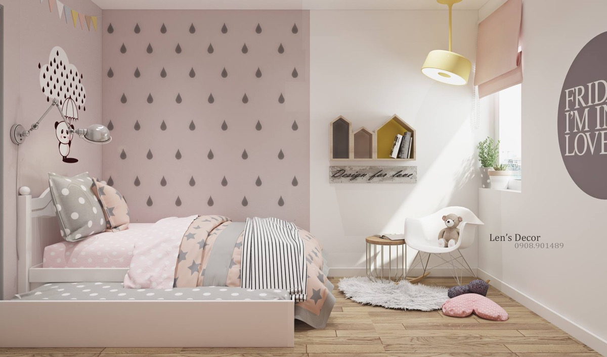 40 Awesome Kids\' Rooms That Use The Pastel Color Palette