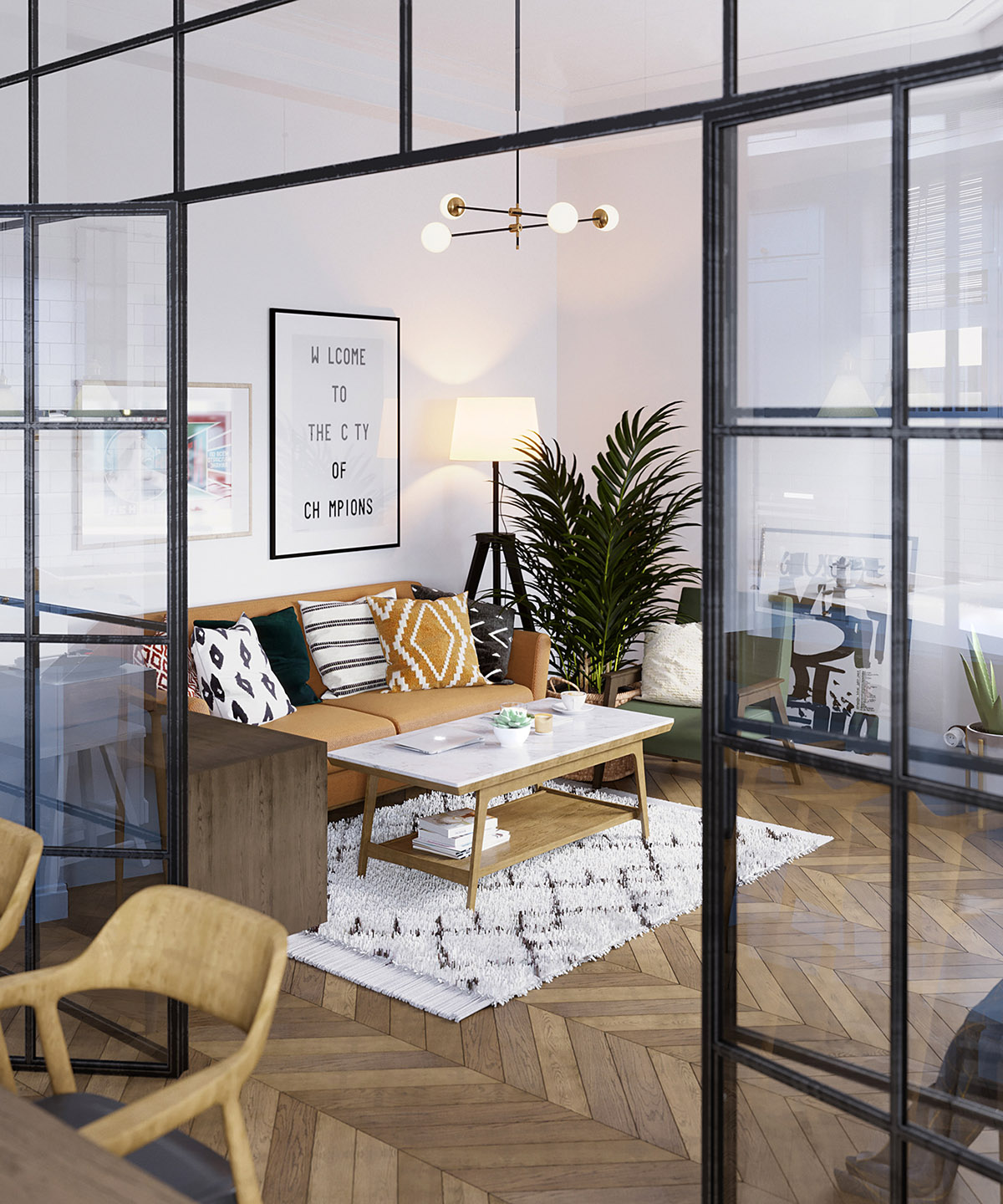 Scandinavian Home Design Looks So Charming With Eclectic: Earthy Eclectic Scandinavian Style Interior