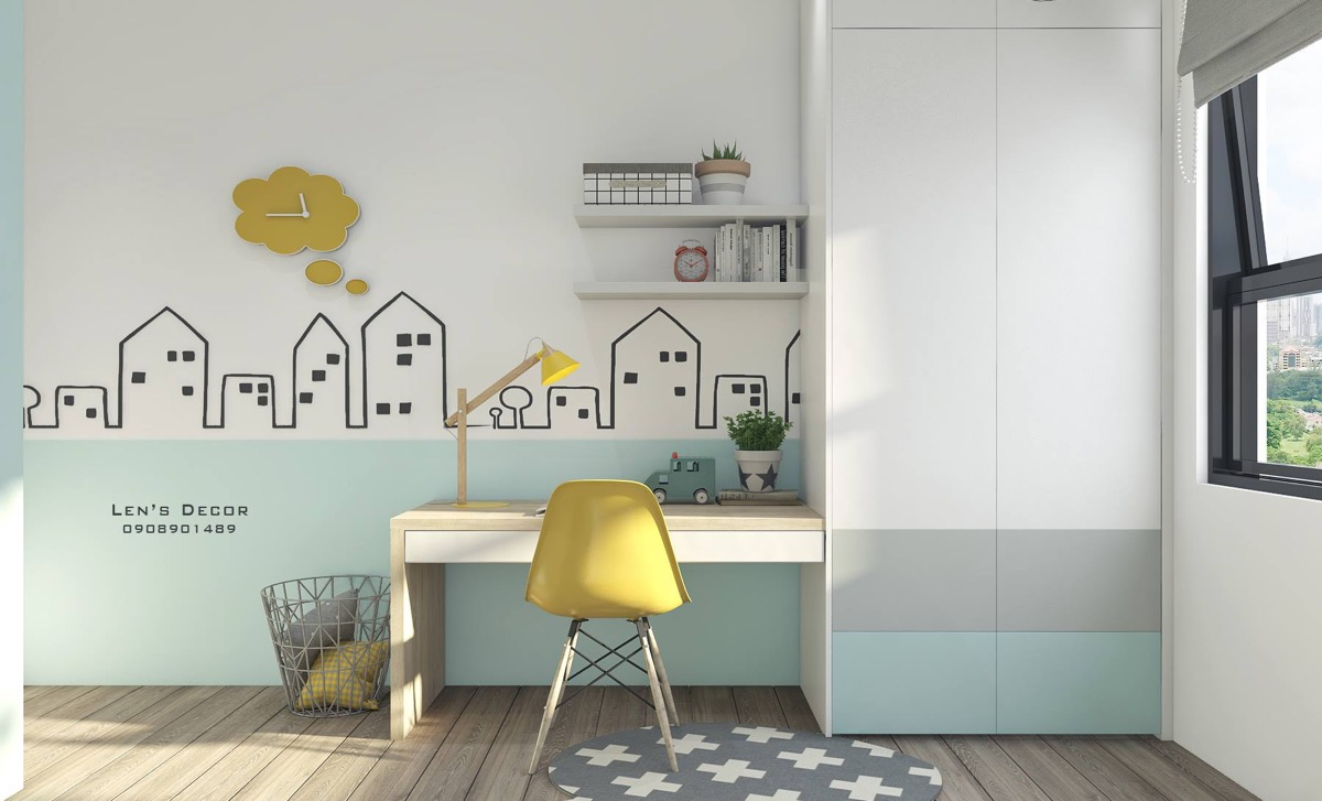 Yellow Kids Rooms How To Use Combine Bright Decor