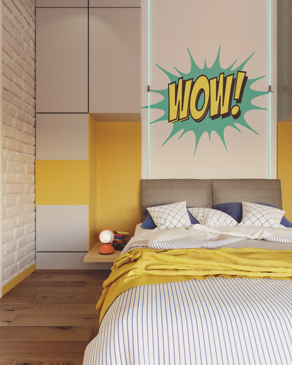 Yellow Kids Room: Yellow Kids' Rooms: How To Use & Combine Bright Decor