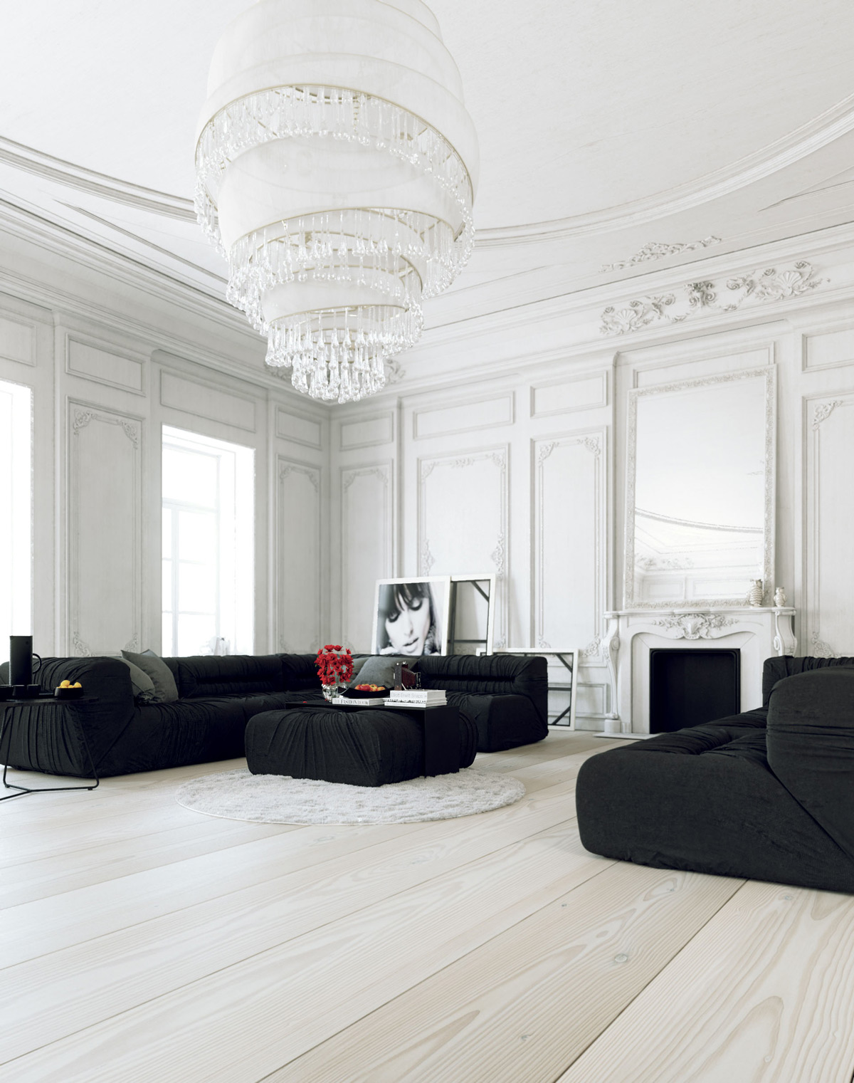 Admirable 30 White Living Rooms That Exude Purity And Peace Best Image Libraries Thycampuscom