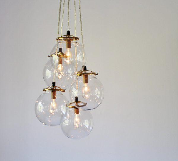 Clear Gl Pendant Globe Home Ideas