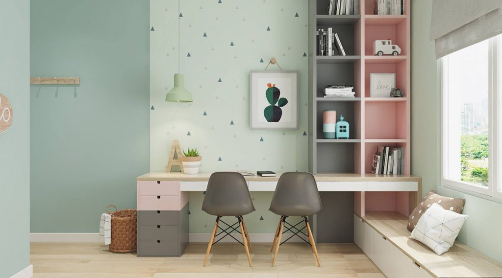 Children S And Kids Room Ideas Designs Inspiration: 40 Awesome Kids' Rooms That Use The Pastel Color Palette
