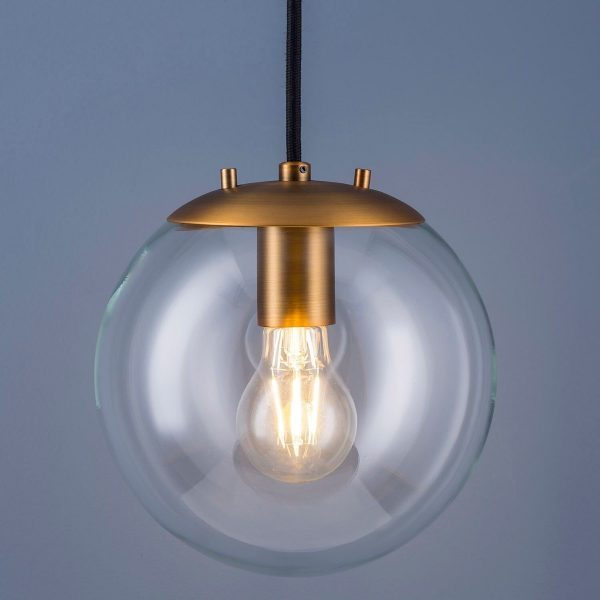 50 Beautiful Globe Pendant Lights: From Metal To Glass To