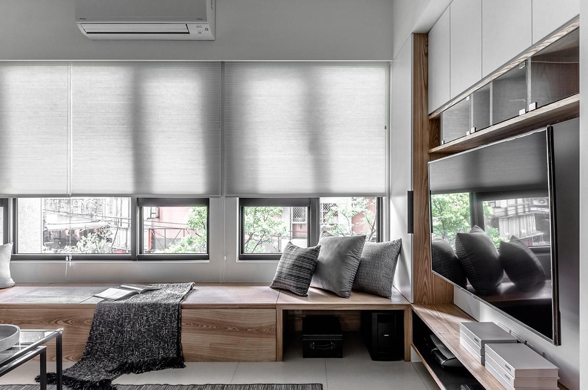 Các ý tưởng về thiết kế nội thất - Bespoke window seat reading nook