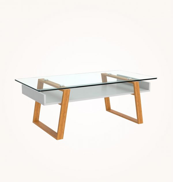 50 Modern Coffee Tables To Add Zing, Wood End Tables With Glass Top