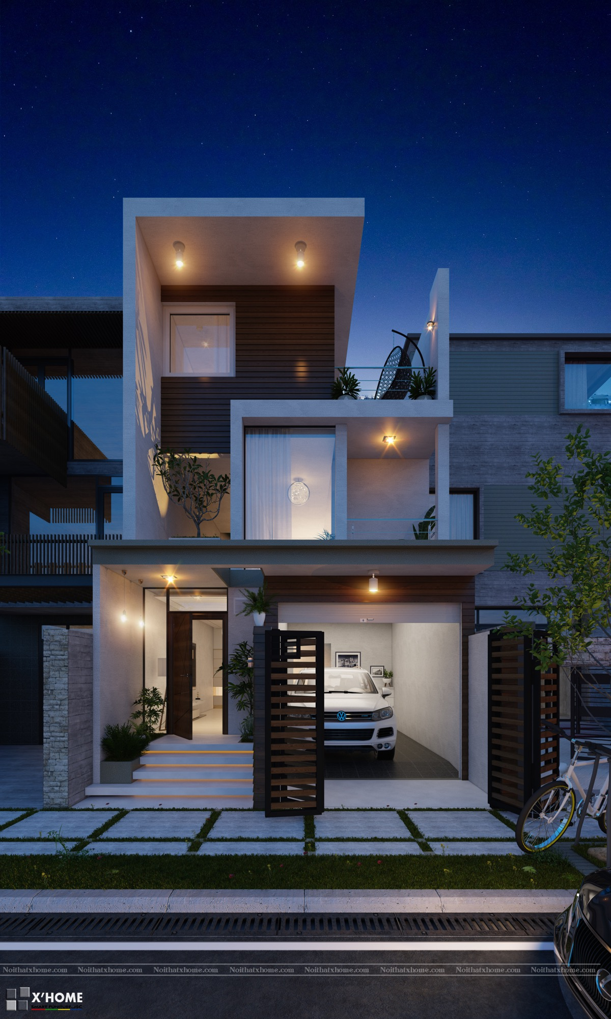 50 Narrow Lot Houses That Transform A Skinny Exterior Into ... on victorian narrow house plans, 3-story house with elevator, narrow duplex house plans, narrow urban row house plans, 3-story small tower plans, long narrow floor plans, custom narrow house plans, 3-story house floor plans, long and narrow bathroom plans, long narrow house plans, 3-story beach house designs, 3-story traditional house plans, contemporary narrow house plans, 3-story house plans urban, narrow lot house plans, craftsman narrow house plans, 3-story tiny house plans, luxury 3-story house plans, 3-story house with pool, 3-story beach house plans,