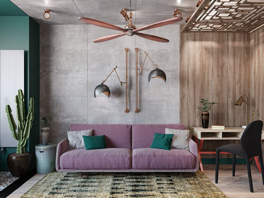 Colourful Boho Industrial Style With Moroccan Accents