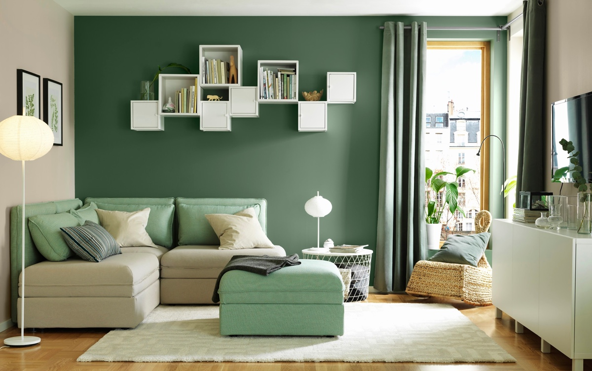 22 Inspirational Ideas Of Small Living Room Design: 30 Gorgeous Green Living Rooms And Tips For Accessorizing Them