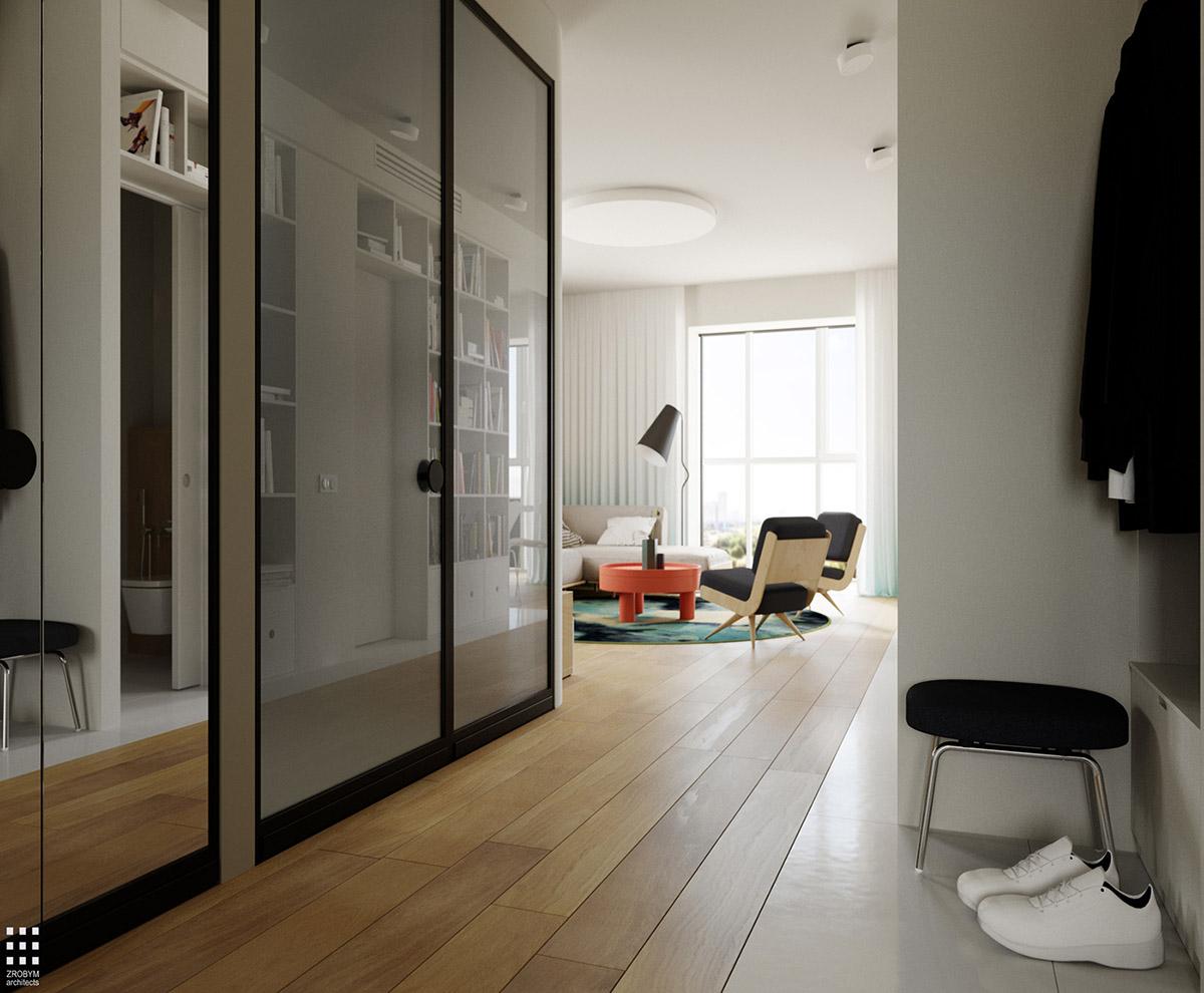 4 Bright Amp Cheerful Interiors That Use White Amp Wood To