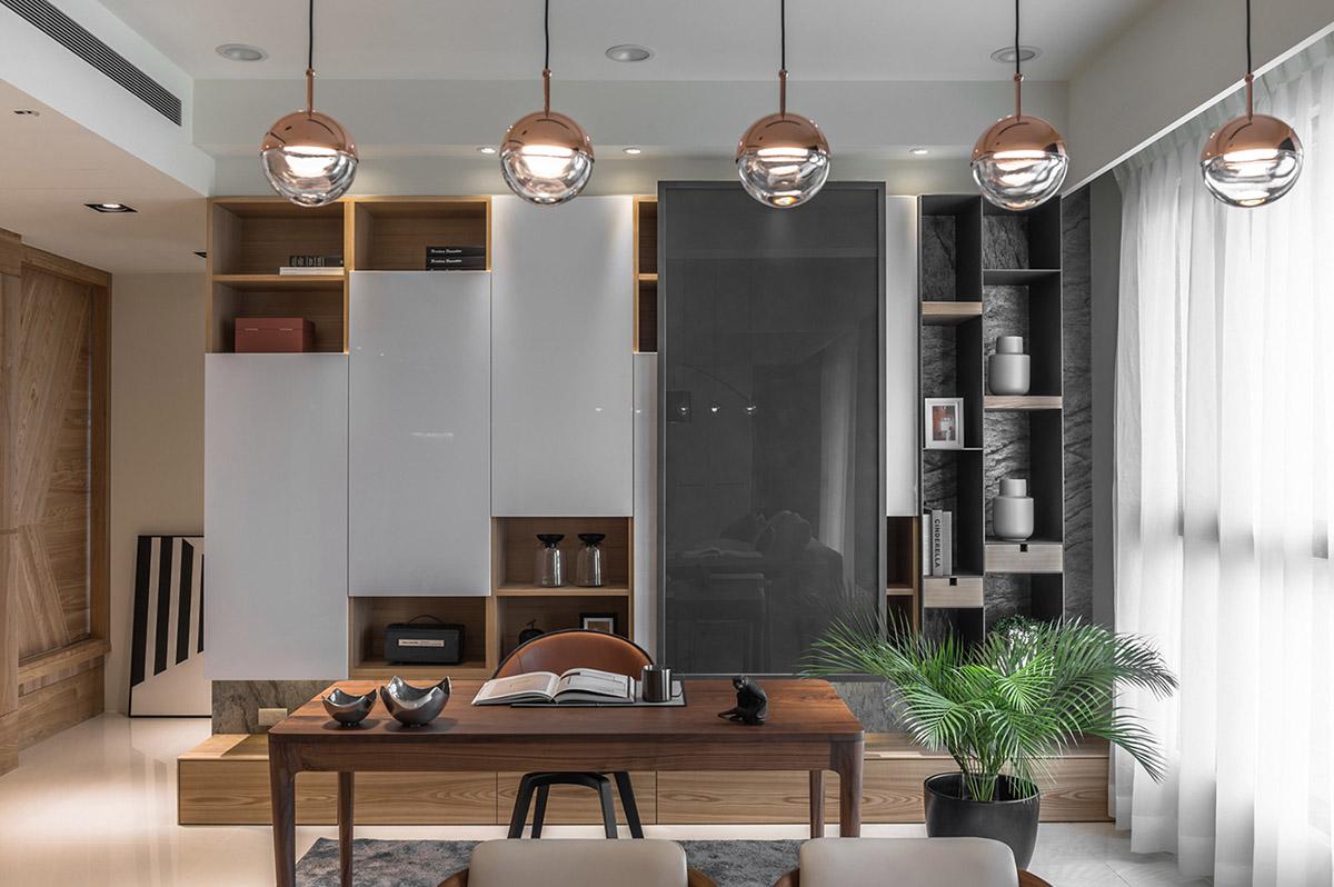 Các ý tưởng về thiết kế nội thất - Home office storage units