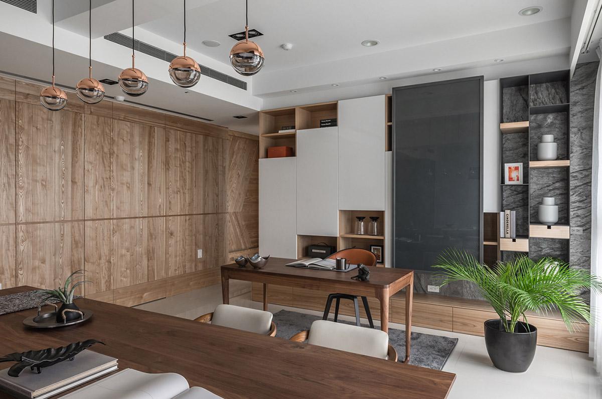 Các ý tưởng về thiết kế nội thất - Home study area