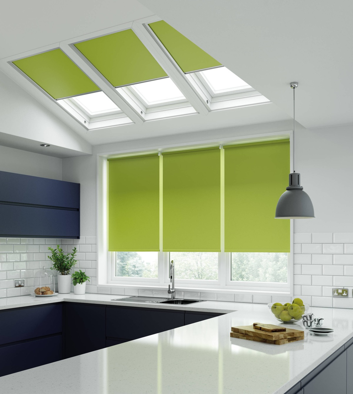 lime green kitchen blinds 33 gorgeous green kitchens and ways to accessorize them 7091