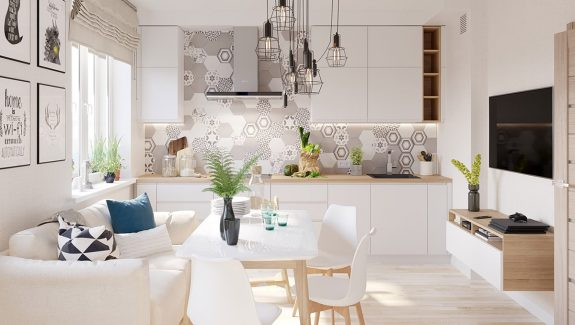 4 Bright Cheerful Interiors That Use White Wood To Good Effect